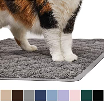 How To Keep A Cat Litter Box Clean Gorilla Grip Original Premium Durable Cat Litter Mat