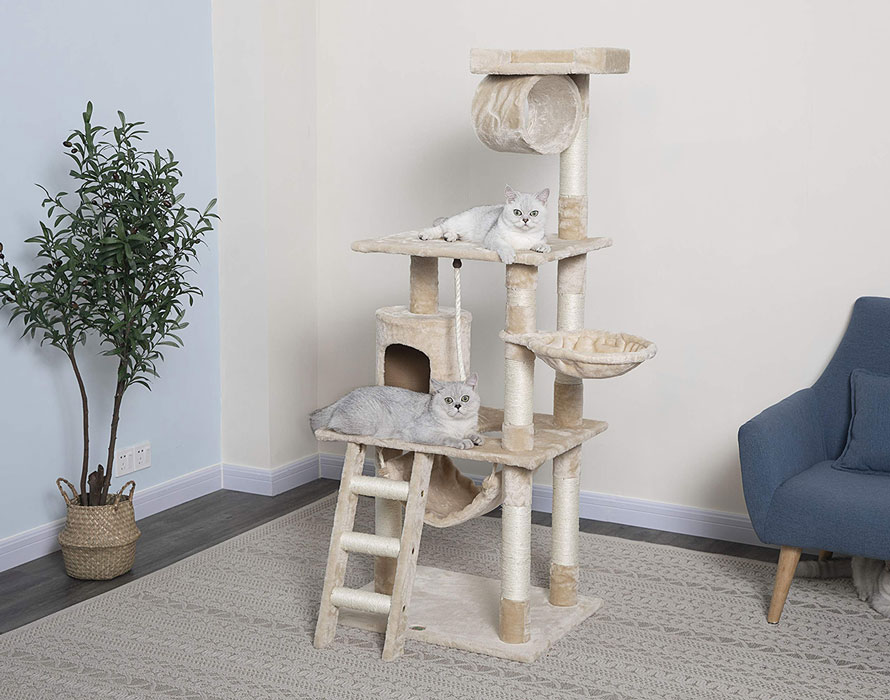 best-scratching-posts-for-cats-Go-Pet-Club-62-Cat-Tree-Condo-Furniture-1