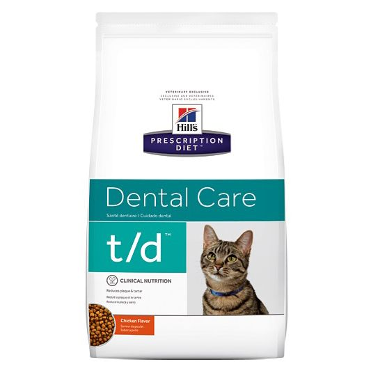 how to keep a cats teeth clean without brushing Hills Diet td Feline Dental Health Cat Food